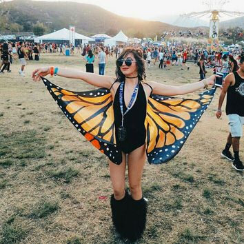 Butterfly Wings- Orange