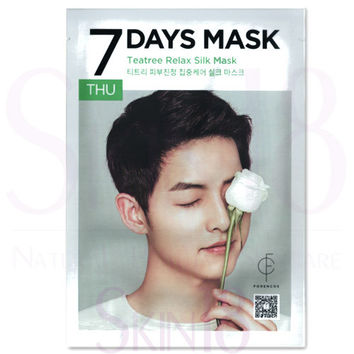 FORENCOS 7 Days Mask THU - Teatree Relax Silk Mask