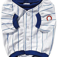 Sporty K9 Chicago Cubs Baseball Dog Jersey II, Large
