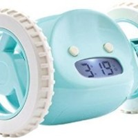 SUCK UK Clocky Aqua - The Runaway Alarm Clock by Nanda Home Inc.