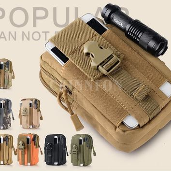 DHL 100PCS Sports Military 600D Tactical Vest Waist Pouch Bag For Outdoor Hunting Wasit Pack Equipment
