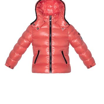 Bady Shiny Puffer Jacket, Pink, Sizes