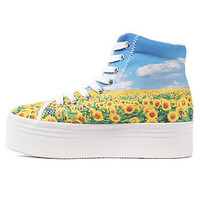 Jeffrey Campbell Sneaker HOMG in Sunflower