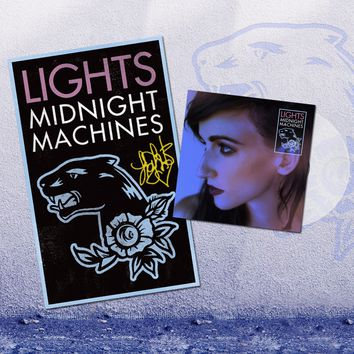 Midnight Machines Vinyl + Poster Bundle - Midnight Machines
