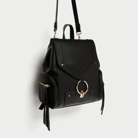 BACKPACK WITH FRONT RING