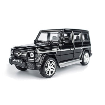 AMG G65 Diecast Metal Car Toys 1:32 Scale Pull Back Simulation Alloy Cars Acousto-optic Auto Model Collection Cars Oyuncak