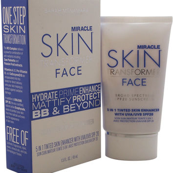 miracle skin transformer face spf 20 - light