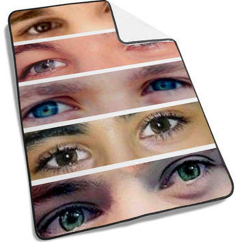 One Direction 1D Face Blanket