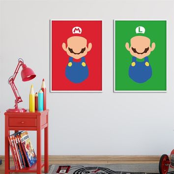 children's Toddler Pure Cotton Super Mario Yoshi Luma Boy Girl 2018 T-shirt O Neck Kid Garment T Shirt Infant Tshirt