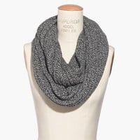 Softest Ribbed Circle Scarf