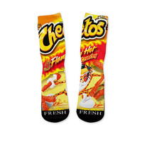 Hot Cheetos Custom Fresh Socks Version 1