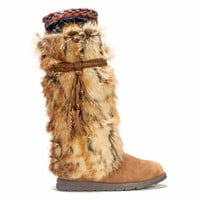 MUK LUKS Leela Faux Fur Women's Knee-High Winter Boots
