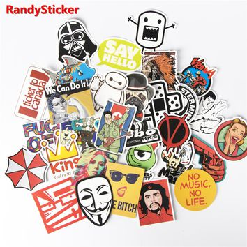 30 piece Toy Styling home decor Stickers for Skateboar