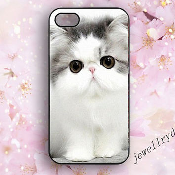 Cat  Iphone 5 Case,Persian Cat iphone 5s/5c cover,pet cat iphone 4/4s,cute cat samsung galaxy s3 s4 s5 case,Pet is man's best friend