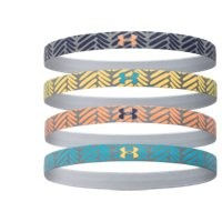 Under Armour Women's UA Reflective Mini Headband - 4pk