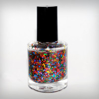 Birthday Balloons- Handmade nail polish Full bottle