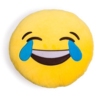 Tears of Joy Emoji Pillow