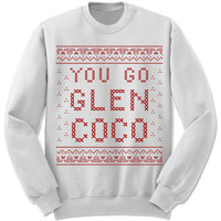 You Go Glen Coco Ugly Christmas Sweater Ugly Sweatshirt. Mean Girls Christmas Sweater. Glen Coco Sweatshirt. Jumper. Christmas gift.