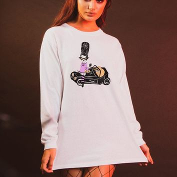 Hearse Hottie Long Sleeve Tee
