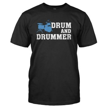 Drum and Drummer - T Shirt