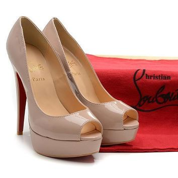 CL Christian Louboutin Fashion Heels Shoes-9