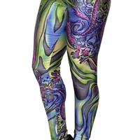 Color Vortex Leggings Design 126