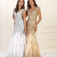 Long Prom Dress Formal Evening Gown Mermaid