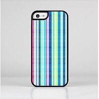 The Colorful Highlighted Vertical Stripes  Skin-Sert Case for the Apple iPhone 5c
