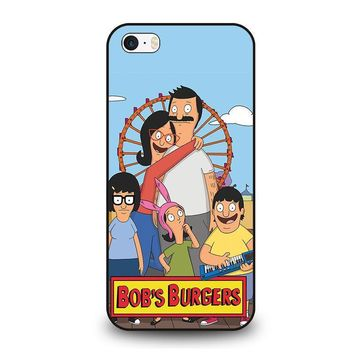 bob s burgers tina belcher 4 iphone se case cover  number 1
