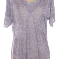 BURNOUT TEE/ GREY by NATION LTD