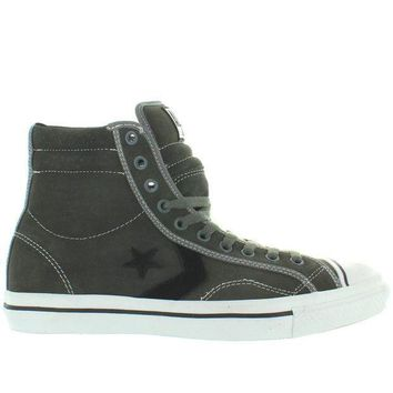 CREYUG7 Converse All-Star Star Player 1975 HI - Charcoal/White Canvas High-Top Sneaker