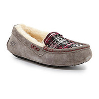 UGG® Australia Women's Ansley Studded Plaid Slippers