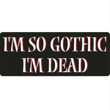 Gothic Decal