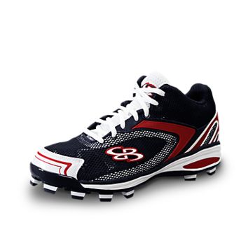 Boombah Rage Molded Mid-Top Cleat
