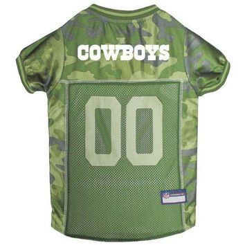 ESBONI Dallas Cowboys Pet Camo Jersey