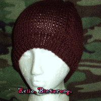 Cable Knit Men's Beanie