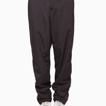 Piped pants from S/S2016 T by Alexander Wang collection in black