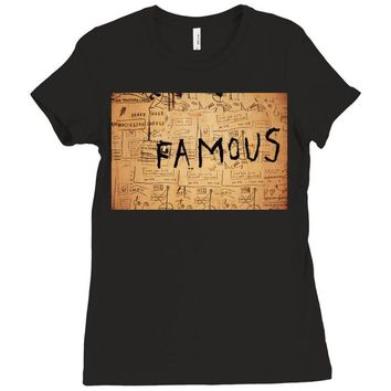 Basquiat Ladies Fitted T-Shirt