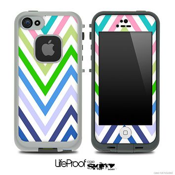 Color-Bright V7 Chevron Pattern Skin for the iPhone 5 or 4/4s LifeProof Case
