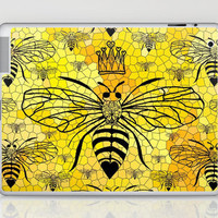 Queen Bee... Laptop & iPad Skin by Lisa Argyropoulos | Society6