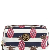 Women's Tory Burch 'Brigitte' Nylon Cosmetics Case