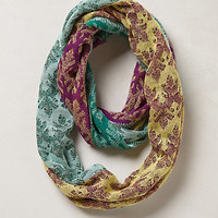 Pastel Patch Infinity Scarf