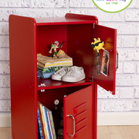KidKraft Medium Locker - Red - 14322