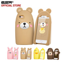 Storage Case for iPhone 6/6s , ESR Cute Cartoon soft silicone Kickstand Protective Case Cover for 4.7 inches for iPhone 6/6s
