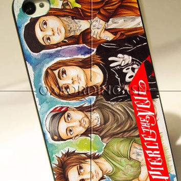 Fan Art Pierce The Veil - for iPhone 4/4S case iPhone 5 case hard case hard cover