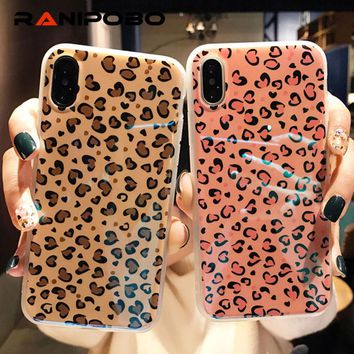 Leopard Heart Phone Case