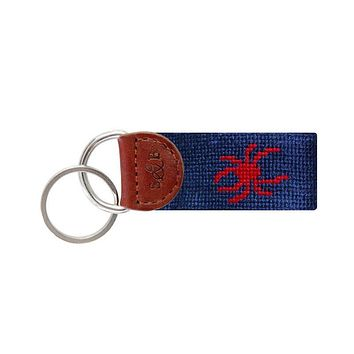 University of Richmond Key Fob in Navy by Smathers & Branson