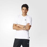 adidas Pharrell Williams HU Brand Tee - White | adidas US