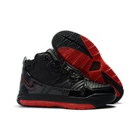 "Nike Zoom LeBron 3 ""Bred"" - Best Deal Online"