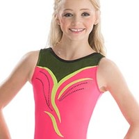 Watermelon Splash Nastia Liukin Leotard from GK Elite